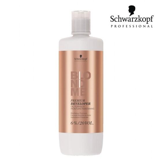 Schwarzkopf Pro Blondme Premium eļļas aktivizētājs 6% 20 Vol. 1L