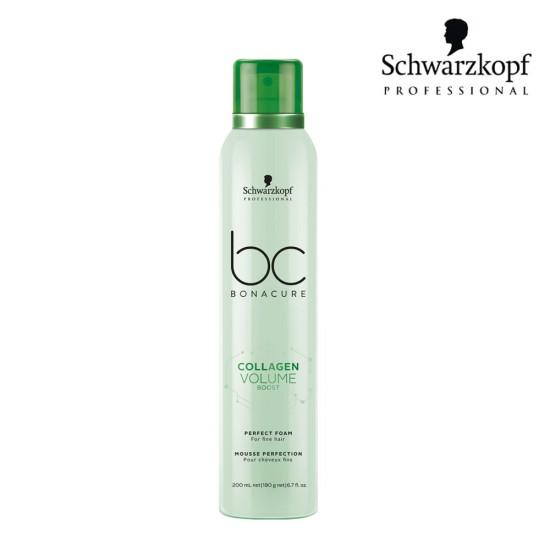 Schwarzkopf Pro BC Collagen Volume Boost putas apjomam 200ml