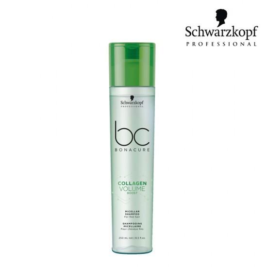 Schwarzkopf Pro BC Collagen Volume Boost micelārais šampūns 250ml