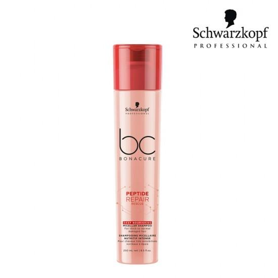 Schwarzkopf Pro BC Peptide Repair Rescue dziļi barojošais šampūns 250ml