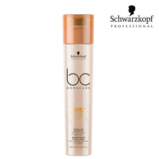 Schwarzkopf Pro BC Q10+ Time Restore micelārais šampūns 250ml