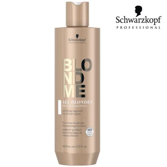 Schwarzkopf Pro BlondMe All Blondes Detox šampūns 300ml