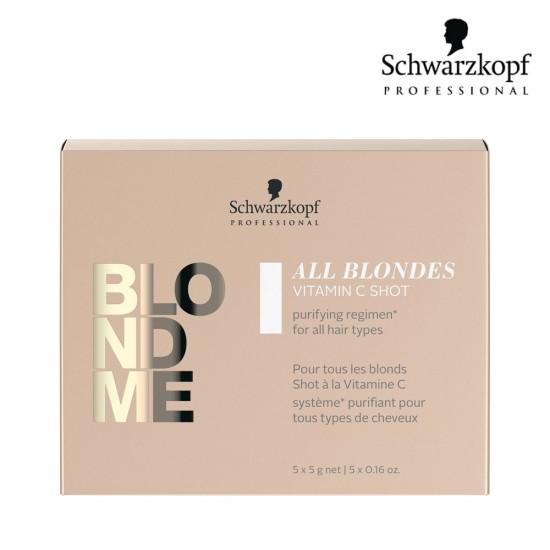 Schwarzkopf Pro BlondMe All Blondes C vitamīna deva blondiem matiem 5g