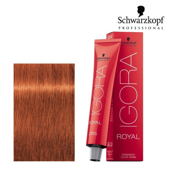 Schwarzkopf Pro Igora Royal 7-77 vidēji blonds vara ekstra tonis 60ml