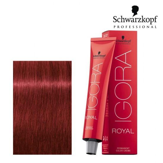 Schwarzkopf Pro Igora Royal 6-88 tumši blonds sarkanais ekstra tonis 60ml