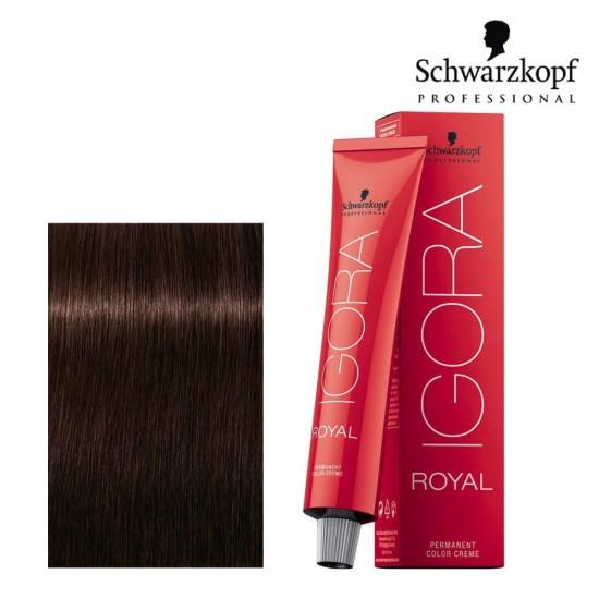Schwarzkopf Pro Igora Royal 3-68 tumši brūns sarkanas šokolādes tonis 60ml