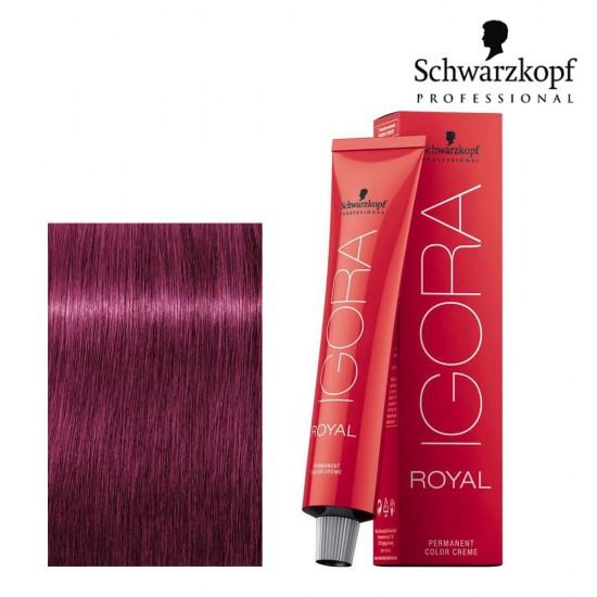 Schwarzkopf Pro Igora Royal 0-89 koncentrāts sarkanīgi violetā tonī 60ml