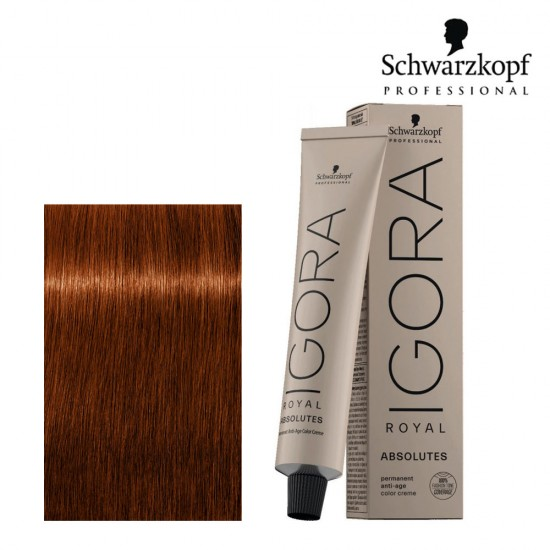 Schwarzkopf Pro Igora Royal Absolutes 6-70 tumši blonds vara dabiskais tonis 60ml