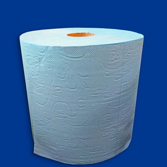Industriālais papīrs zils 2 kārtas 20cm x 300m