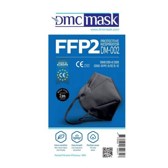 Respirators FFP2 melns 2gab.