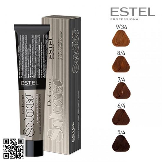 Estel DeLuxe Silver 8/4 krāsa-kopšana matiem 60ml