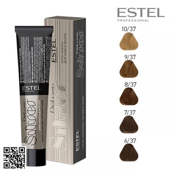 Estel DeLuxe Silver 7/37 krāsa-kopšana matiem 60ml