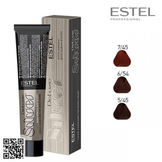 Estel DeLuxe Silver 6/54 krāsa-kopšana matiem 60ml