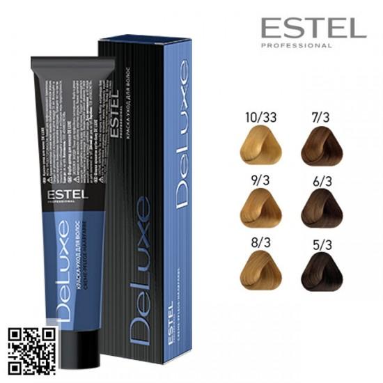 Estel DeLuxe 5/3 krāsa-kopšana matiem 60ml