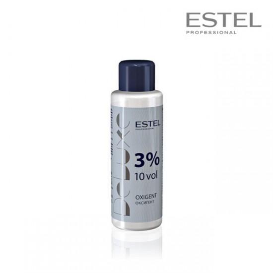Estel DeLuxe oksidācijas emulsija 3% 10 vol 60ml