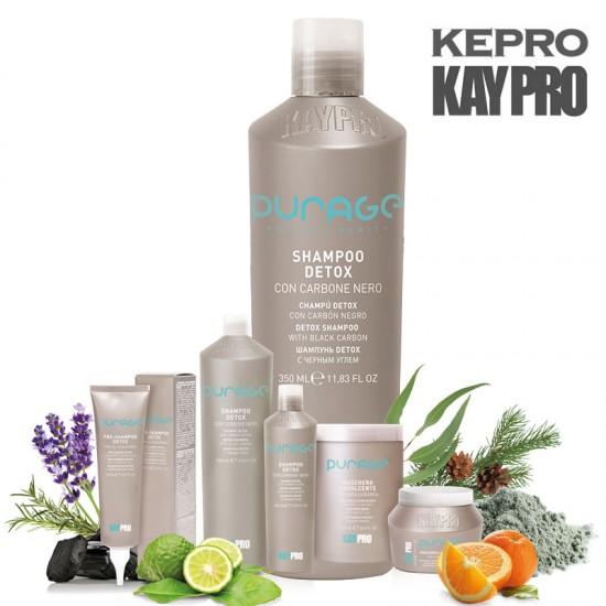 Kepro Kaypro Purage Detox šampūns ar melno ogli 350ml