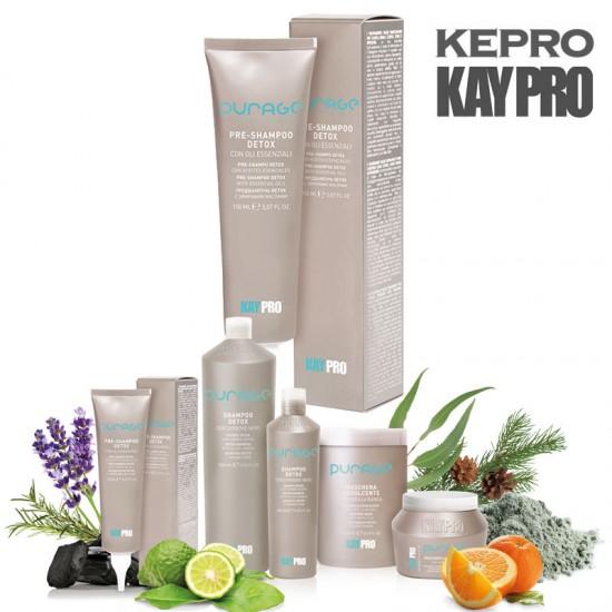 Kepro Kaypro Purage Detox eterisko eļļu krēms matu attīrīšanai 150ml