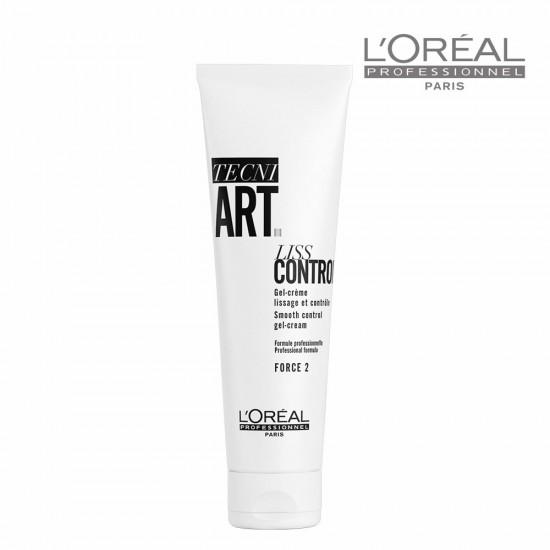 Loreal Tecni Art Liss Control Smooth matus nogludinoša krēmveida želeja 150ml