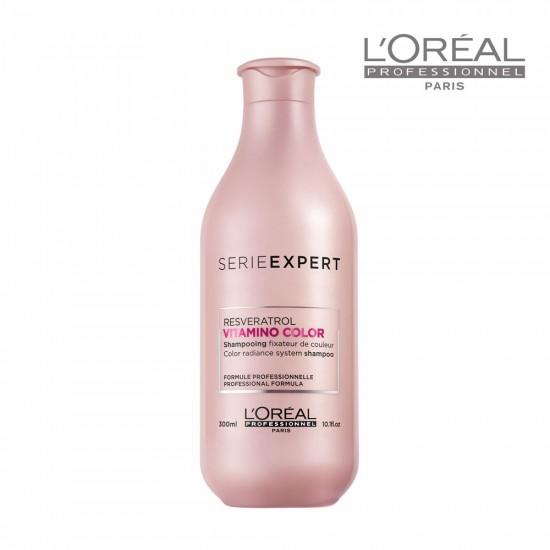 Loreal Serie Expert Vitamino Color šampūns krāsotiem matiem 300ml