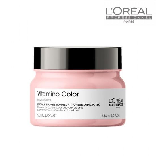 Loreal Serie Expert Vitamino Color maska krāsotiem matiem 500ml