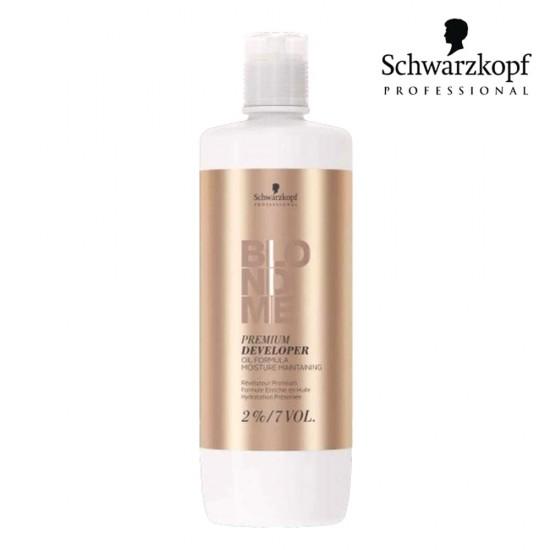 Schwarzkopf Pro BlondMe Premium eļļas aktivizētājs 2% 7 Vol 1L
