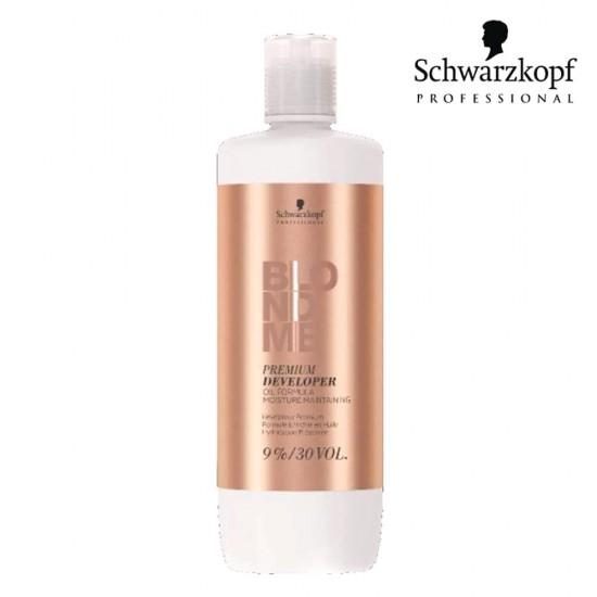 Schwarzkopf Pro BlondMe Premium eļļas aktivizētājs 9% 30 Vol 1L