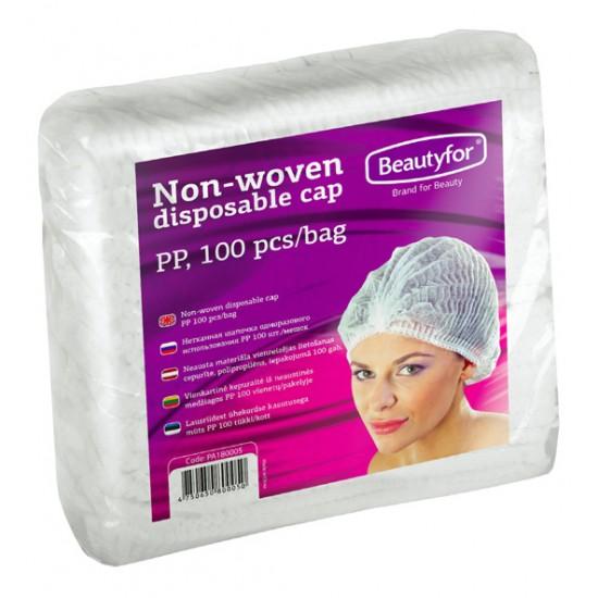 Beautyfor gofrētas cepurītes 100 gab.