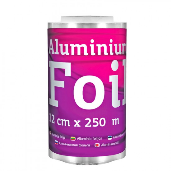Alumīnija folija Beautyfor 250m mīksts iepakojums
