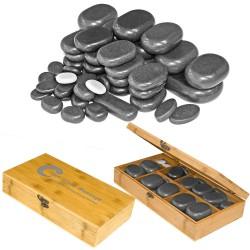 Bazalta akmeņu komplekts H45TC2 45gab.