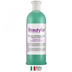 Beautyfor piparmētru gēls pirms vaksācijas ar mentolu 500ml