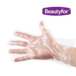 Beautyfor polietilēna cimdi 100 gab.