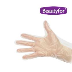 Beautyfor universāli PVE cimdi 50 gab.
