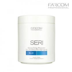 Farcom Seri balinošs pūlveris dabīgiem matiem zils 500g
