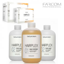 Farcom Bioproten Hairplex matu aizsardzība 3x525ml