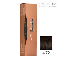 Farcom Expertia permanenta matu krēmkrāsa 100ml 4.72-C Chestnut brown