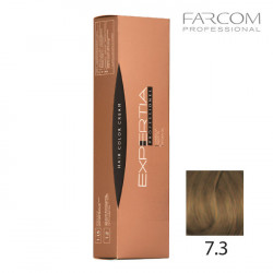 Farcom Expertia permanenta matu krēmkrāsa 100ml 7.3-GO Golden blonde