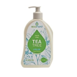 Šķidrās ziepes Jusma Econord ar tējas koka ēterisko eļļu 500ml
