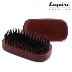 Esquire Grooming vīriešu matu suka ar neilona sariem