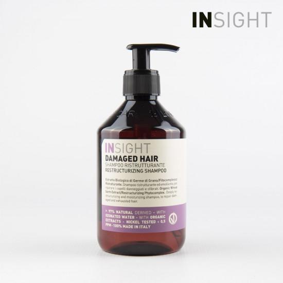Insight Damaged Hair struktūru atjaunojošs šampūns 900ml
