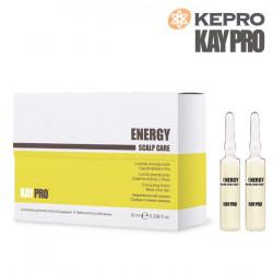 Kepro Kaypro Energy Scalp care losjons plāniem matiem 10mlx12gb