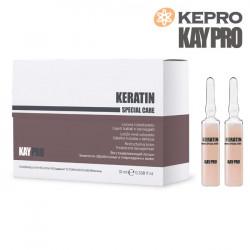 Kepro Kaypro Keratin matu losjons 10mlx12gb