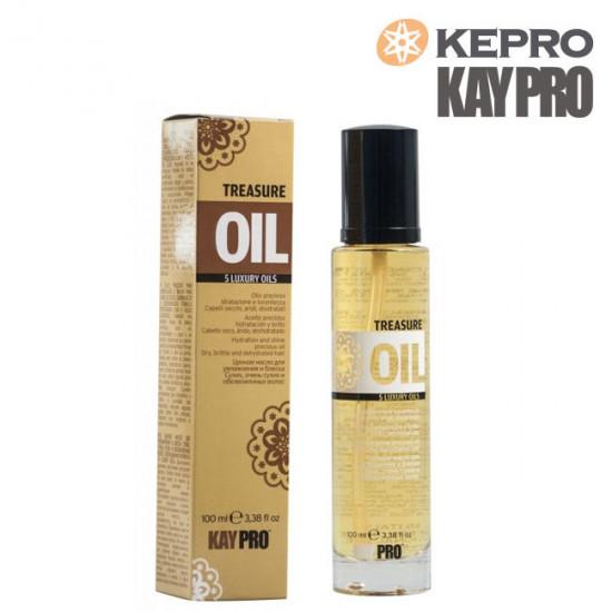 Kepro Treasure Oil 5 luxury oils mitrinoša eļļa 100ml