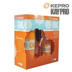Kepro Kaypro Sun Treasure Oil matu aizsargājošs komplekts sauļošanai