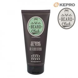 Kepro Beard Club Extreme Gel fluid šķidrs gēls stipras fiksācijas 180ml