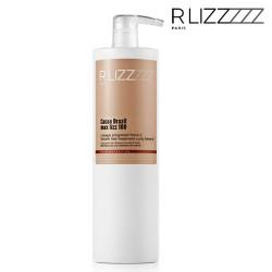 RLizz Cacao Brazil Max Lizz 100 Keratin hair treatment curly force 2 1L