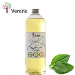 Verana Plantain Ceļmallapa masāžas eļļa ķermenim 1L