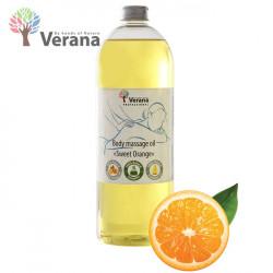 Verana Sweet Orange Saldais apelsīns masāžas eļļa ķermenim 1L