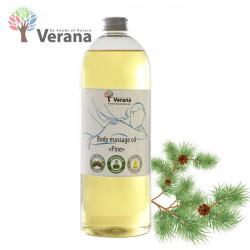 Verana Pine Priede masāžas eļļa ķermenim 1L