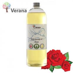 Verana Rose Roze masāžas eļļa ķermenim 1L