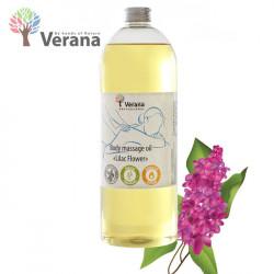 Verana Lilac Ceriņi masāžas eļļa ķermenim 1L